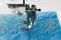 Brother-Quilt-Applikationsfuß (7mm) offen
